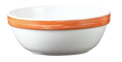 Brush orange, Salatschale 12 cm stapelbar