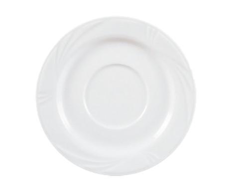 Arcadia weiß Suppen-Untertasse 16,5 cm